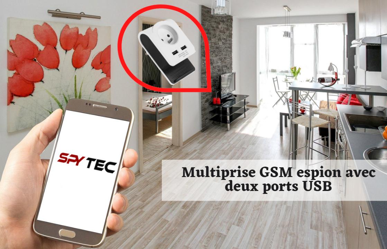 Multiprise GSM espion USB